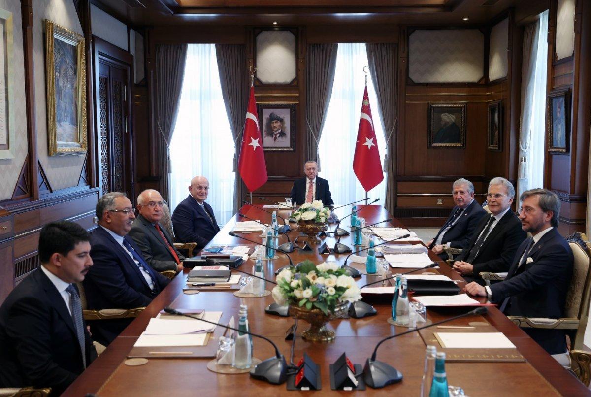YİK Toplantısı nda Cumhurbaşkanı Erdoğan dan  Anayasa  vurgusu #1