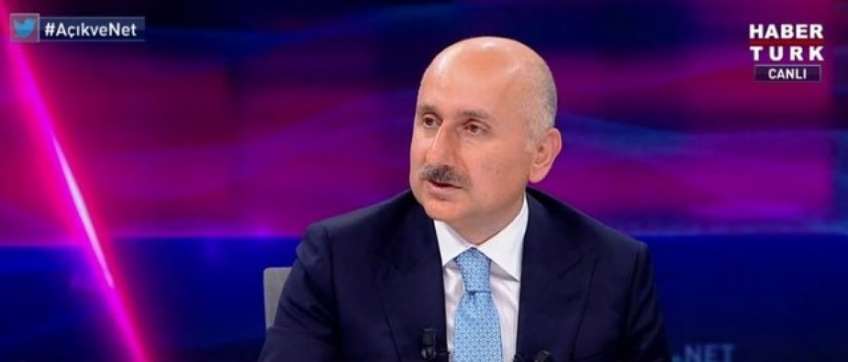 Adil Karaismailoğlu ndan Kanal İstanbul açıklaması #1
