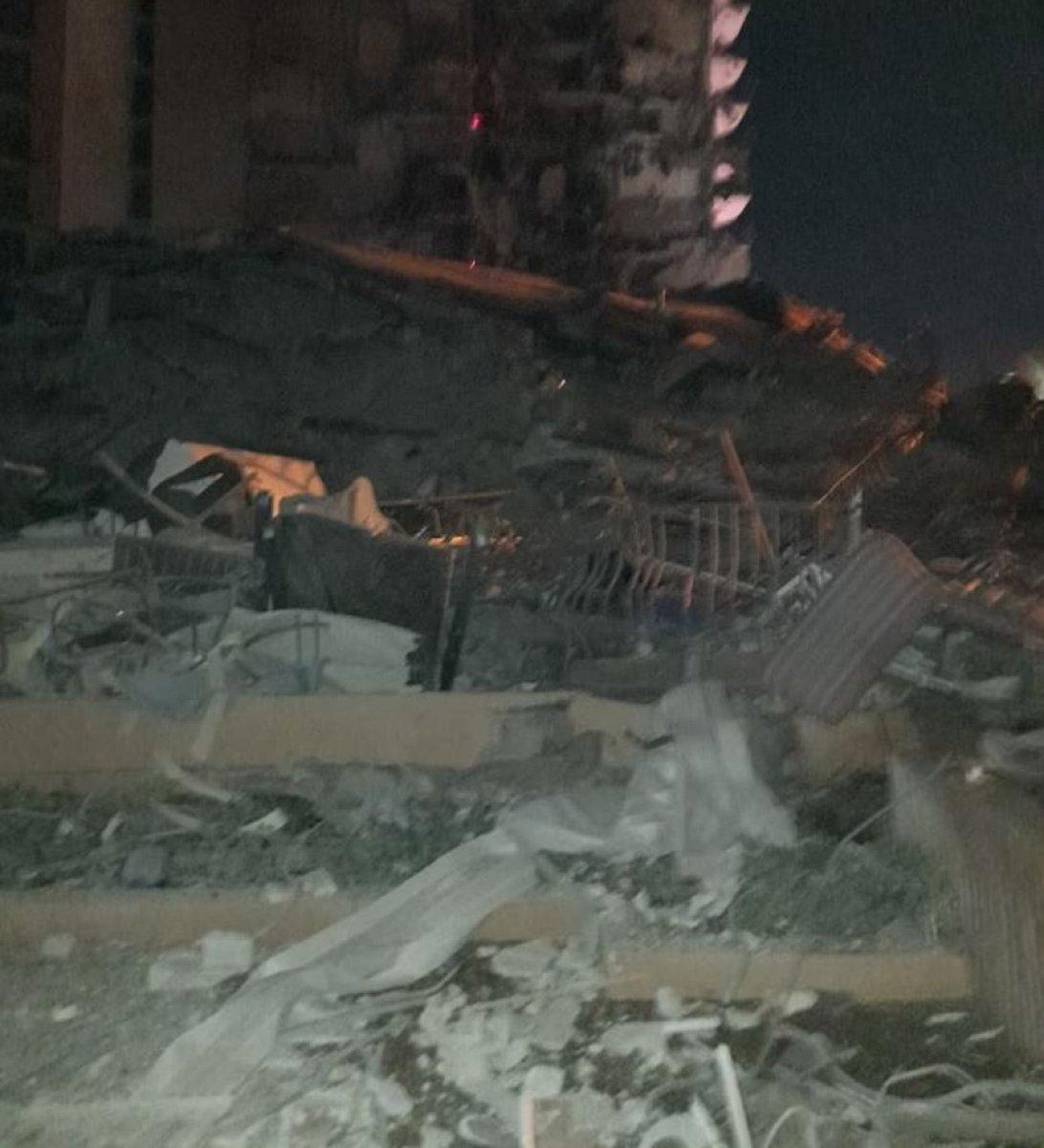 ABD de 12 katlı bina kısmen çöktü #5