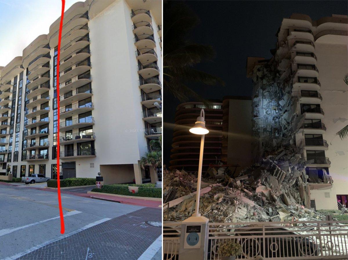 ABD de 12 katlı bina kısmen çöktü #1