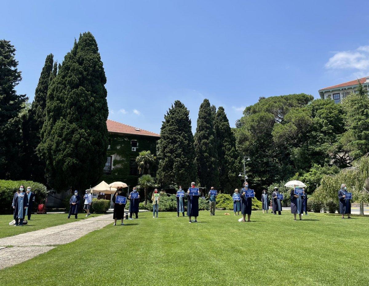 Boğaziçi Üniversitesi nde akademisyenlerin eylemi sürüyor #3