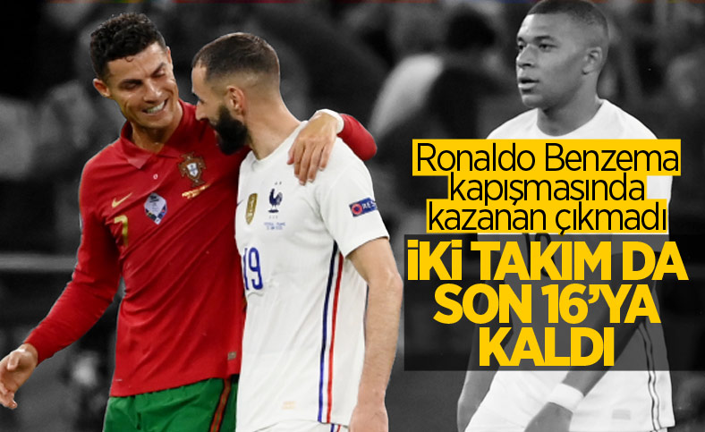 Portekiz, Fransa ile berabere kaldı