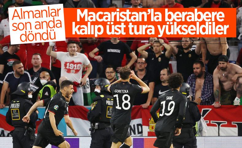 Almanya, Macaristan'la berabere kaldı