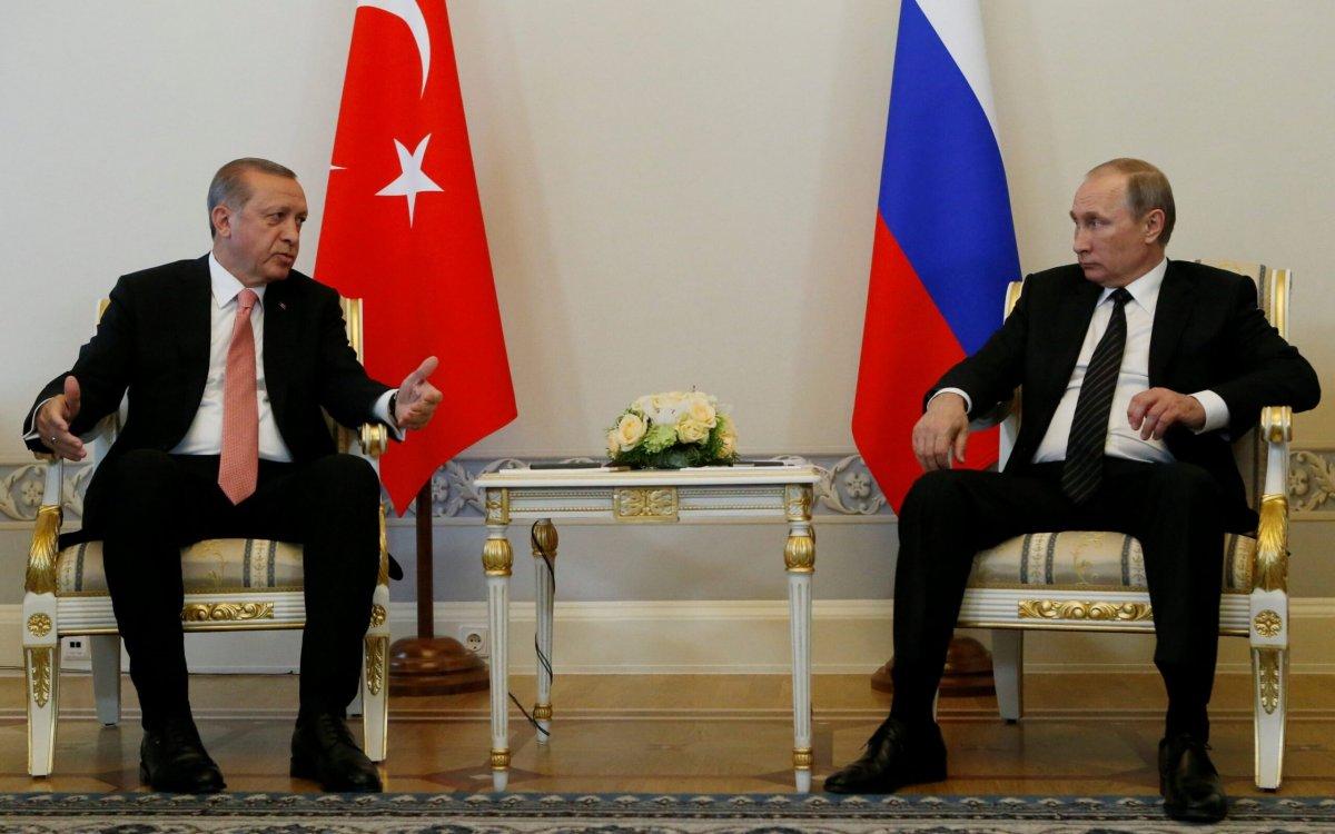 Cumhurbaşkanı Erdoğan Putin le görüştü #1