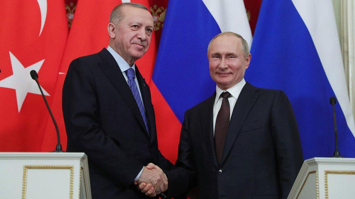 Cumhurbaşkanı Erdoğan Putin le görüştü #2