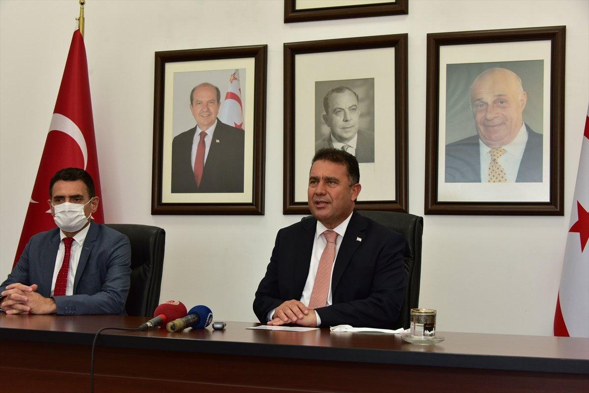 KKTC Başbakanı Saner: Türkiye ile Kıbrıs konusunda tam mutabakat var #1