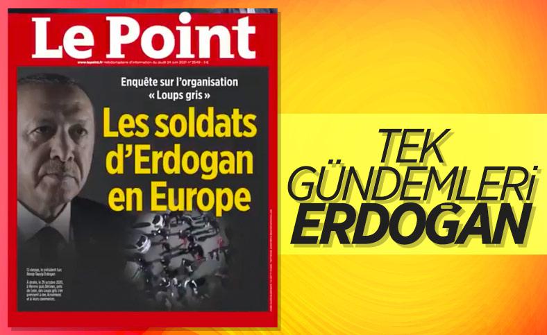 Fransa'nın Türkiye düşmanlığı, Le Point'in kapağında