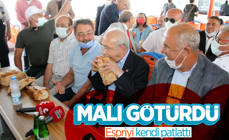Kemal Kılıçdaroğlu'ndan kendisine yapılan ikrama esprili yanıt