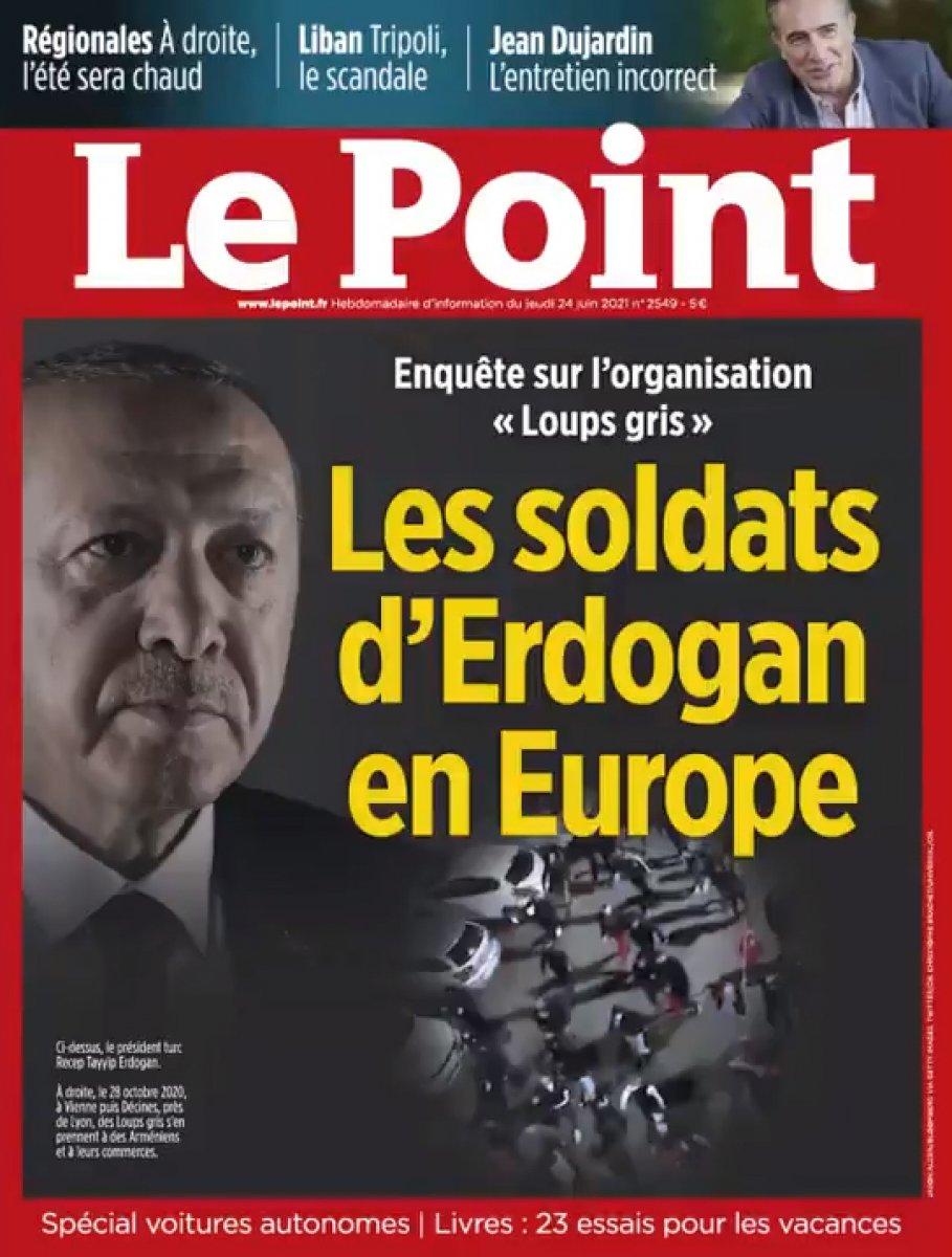 Fransa nın Türkiye düşmanlığı, Le Point in kapağında #1
