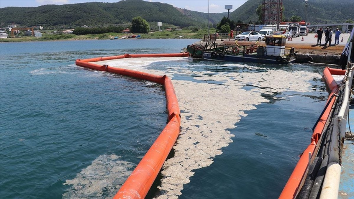 Marmara'dan toplam 6 bin 159 metreküp müsilaj temizlendi #1