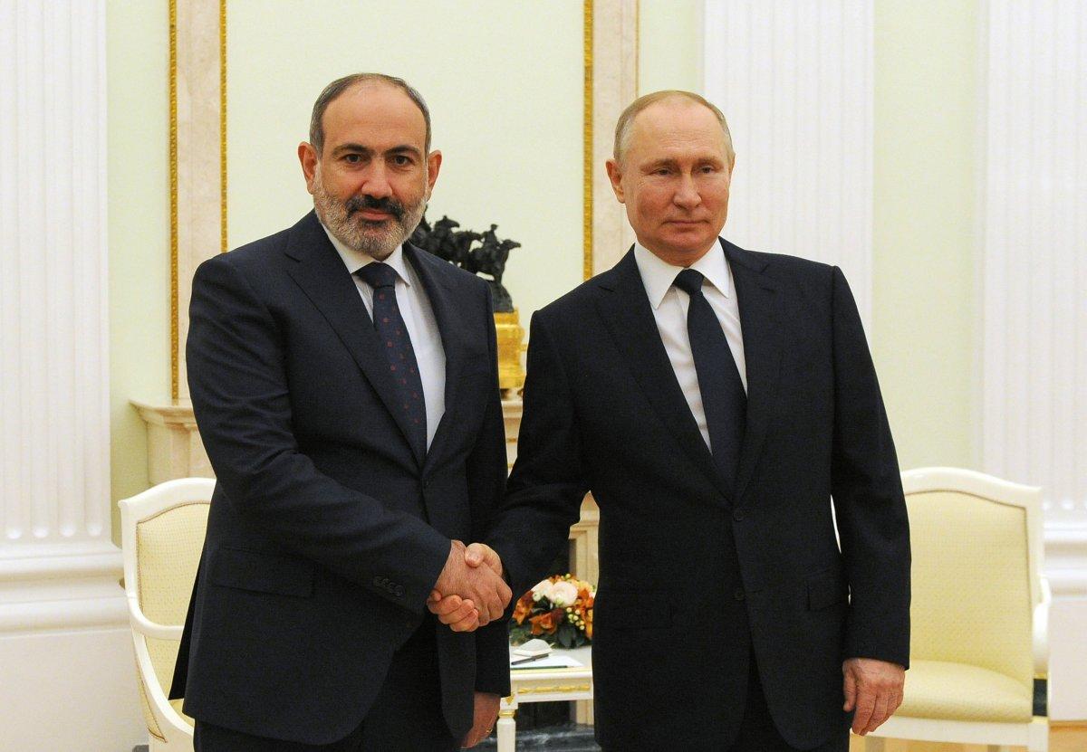 Putin'den Paşinyan'a seçim tebriği #1