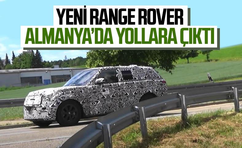 Yeni nesil Range Rover, Almanya'da görüntülendi