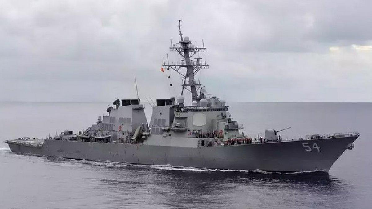 Çin: Tayvan Boğazı ndan gemi geçiren ABD en büyük risk yaratıcısı #1