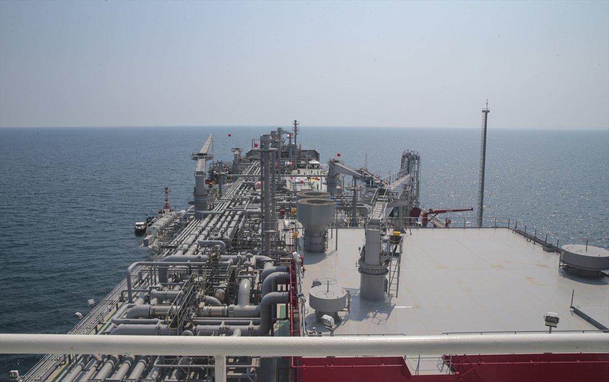 Türkiye nin ilk doğalgaz depolama gemisi Ertuğrul Gazi hizmete girdi #1