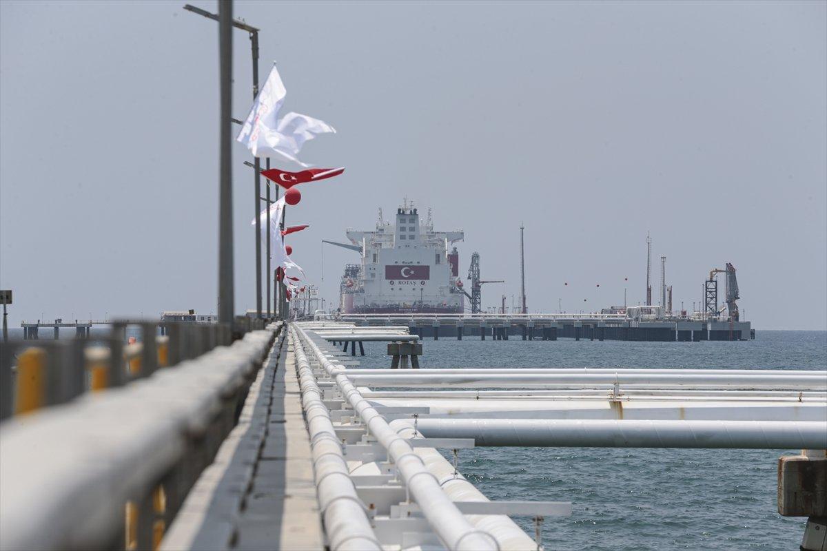 Türkiye nin ilk doğalgaz depolama gemisi Ertuğrul Gazi hizmete girdi #2
