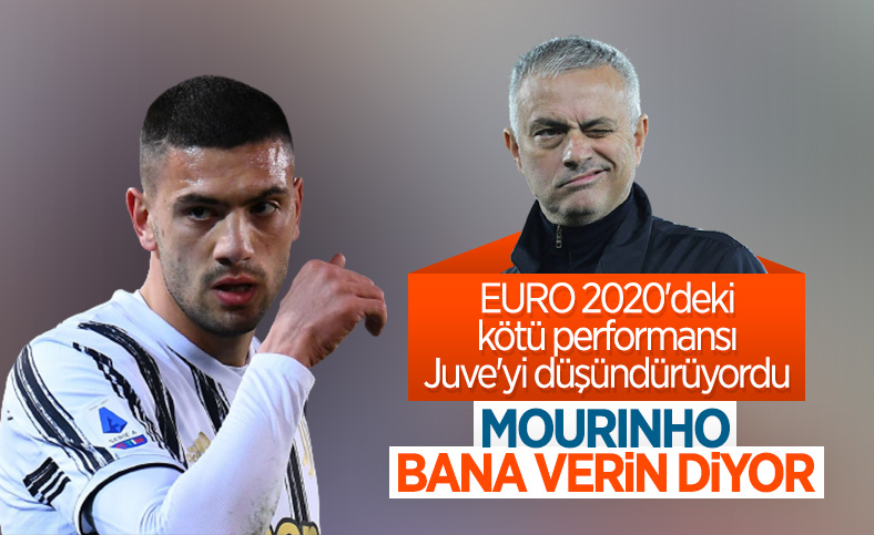 Jose Mourinho, Merih Demiral'ı istiyor