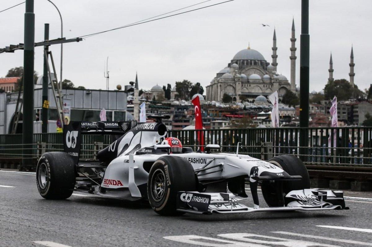 Formula 1 yeniden Türkiye de #1