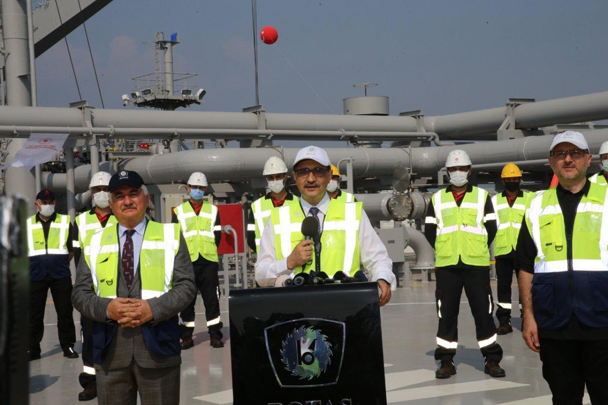 Türkiye nin ilk doğalgaz depolama gemisi Ertuğrul Gazi hizmete girdi #5