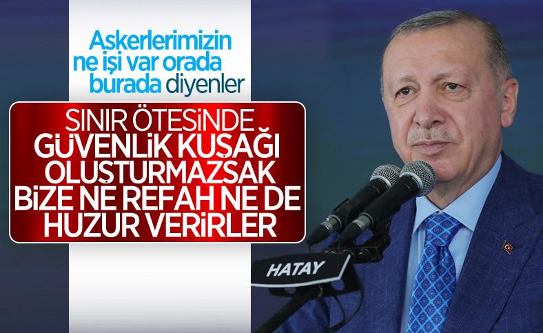 Cumhurbaşkanı Erdoğan'dan, güvenlik kuşağı vurgusu