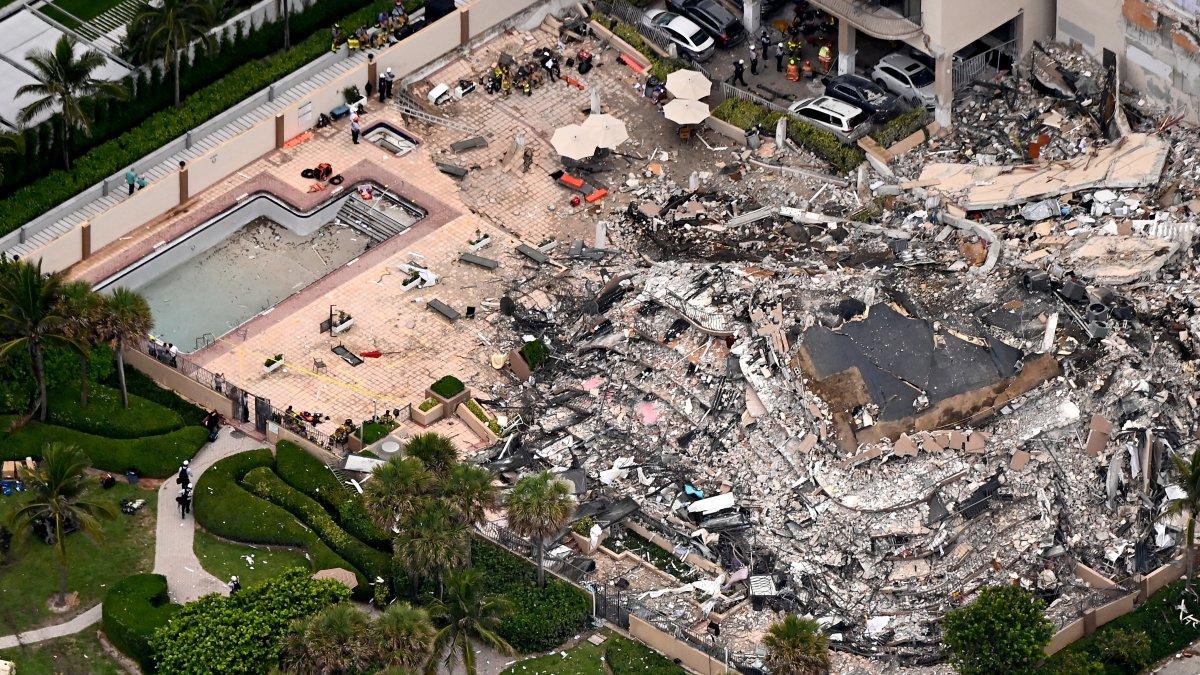 ABD de 12 katlı bina kısmen çöktü #2