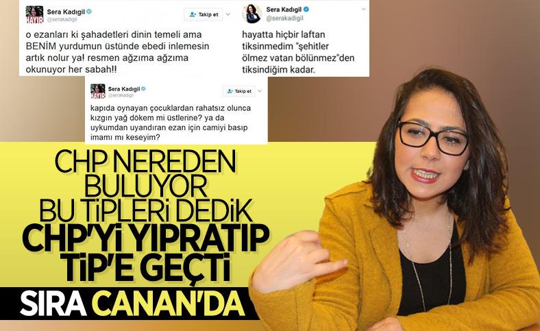 CHP'li Saliha Sera Kadıgil Sütlü, partisinden istifa etti