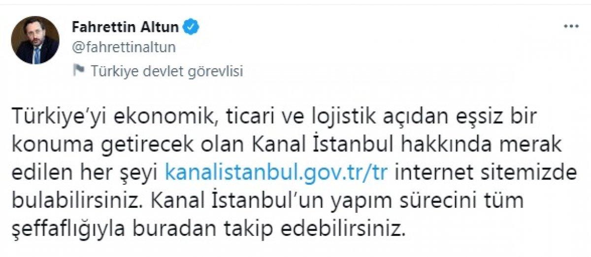 Kanal İstanbul  internet sitesi açıldı #2