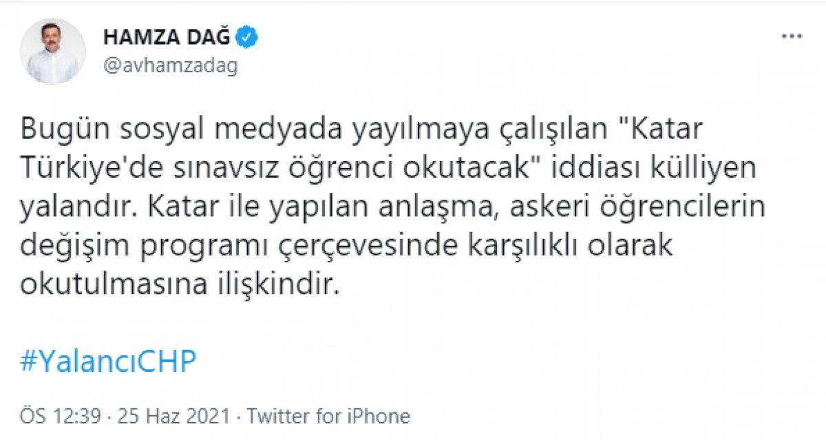 Katar Türkiye de sınavsız öğrenci okutacak iddiası yalan çıktı #3
