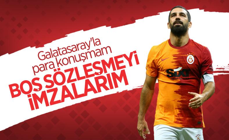 Arda Turan: Galatasaray'la para konuşmam