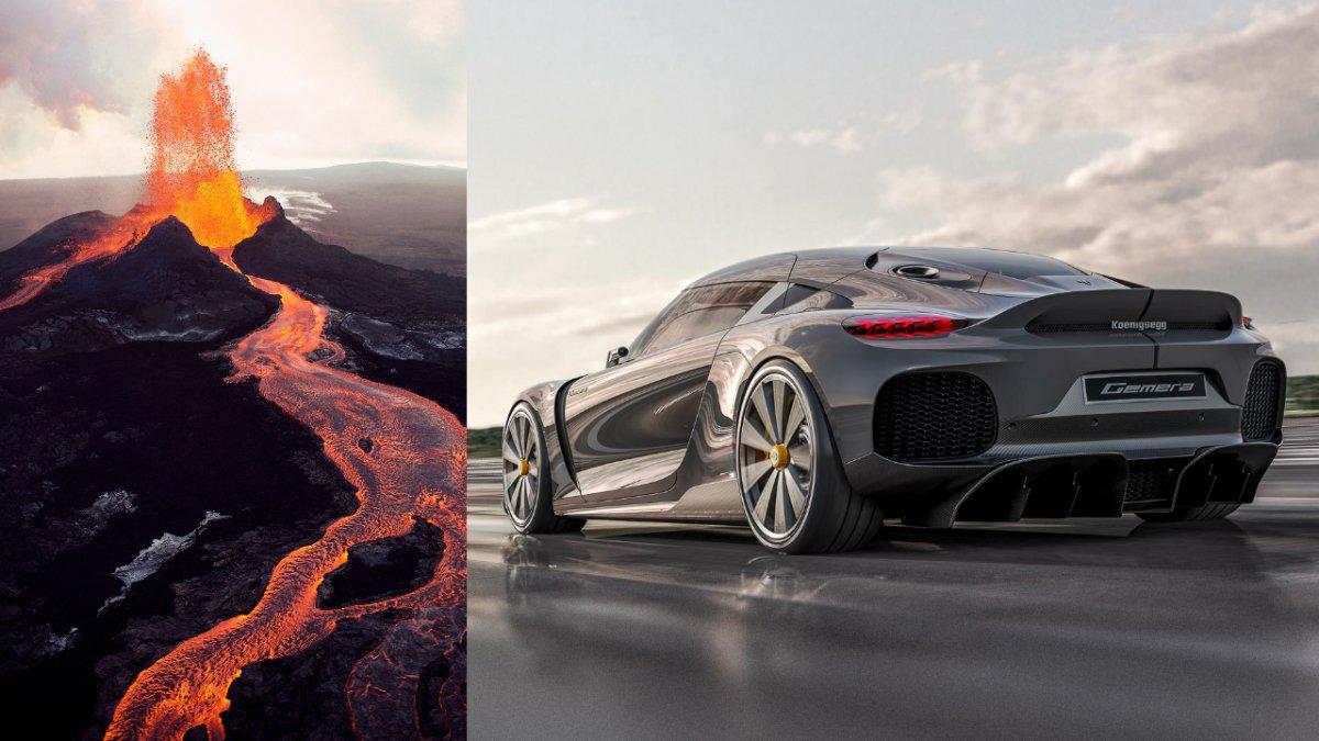 İsveçli marka Koenigsegg, yanardağ yakıtıyla çalışan otomobil geliştiriyor #1