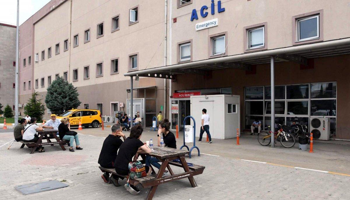 Tekirdağ'da sahte içki 11 kişiyi hastanelik etti  #1