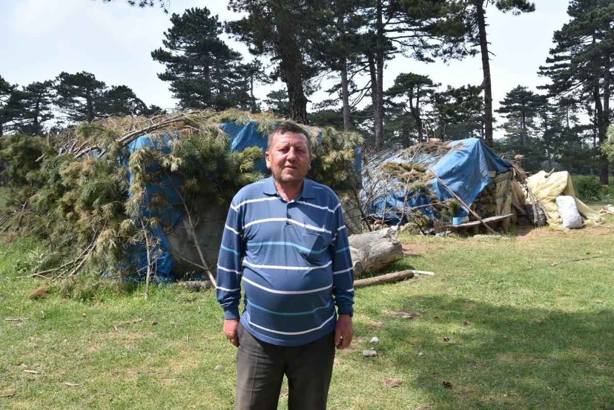 Balıkesir'de havalar ısındı, yaylaya göç başladı #10