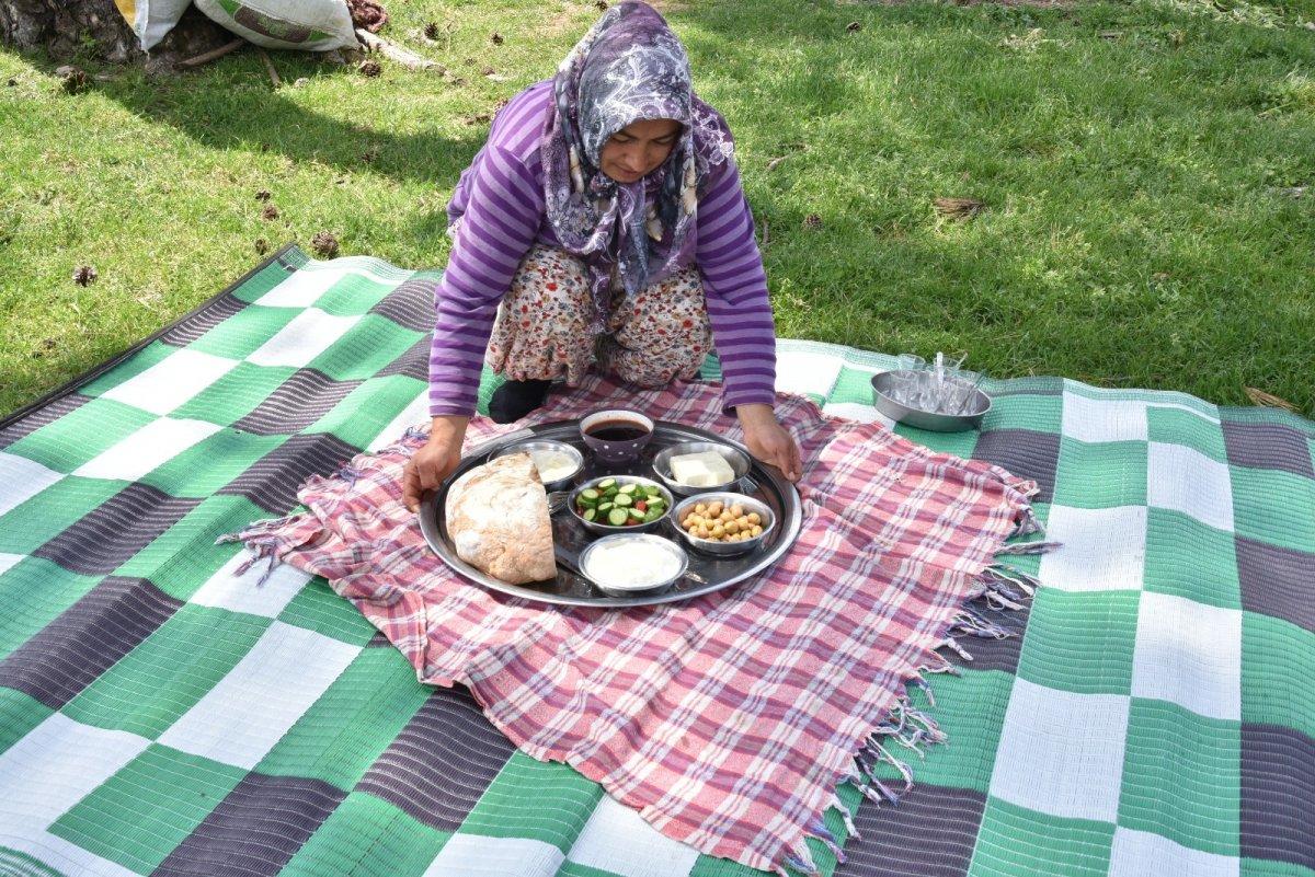 Balıkesir'de havalar ısındı, yaylaya göç başladı #4