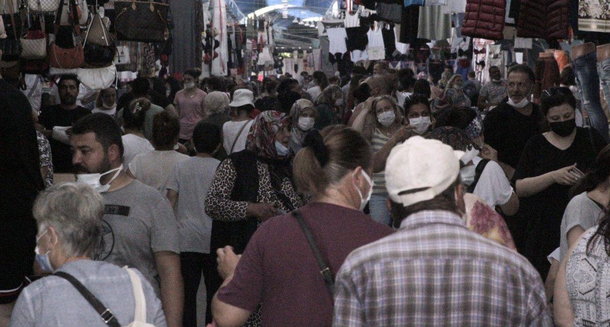 Edirne'de, Bulgar vatandaşlarının alışveriş yoğunluğu kamerada #2