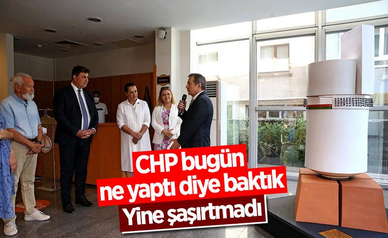 CHP'li belediyelerden ortaklaşa heykel açılışı