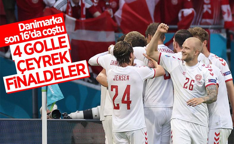 Danimarka, Galler'i yenip, çeyrek finale çıktı