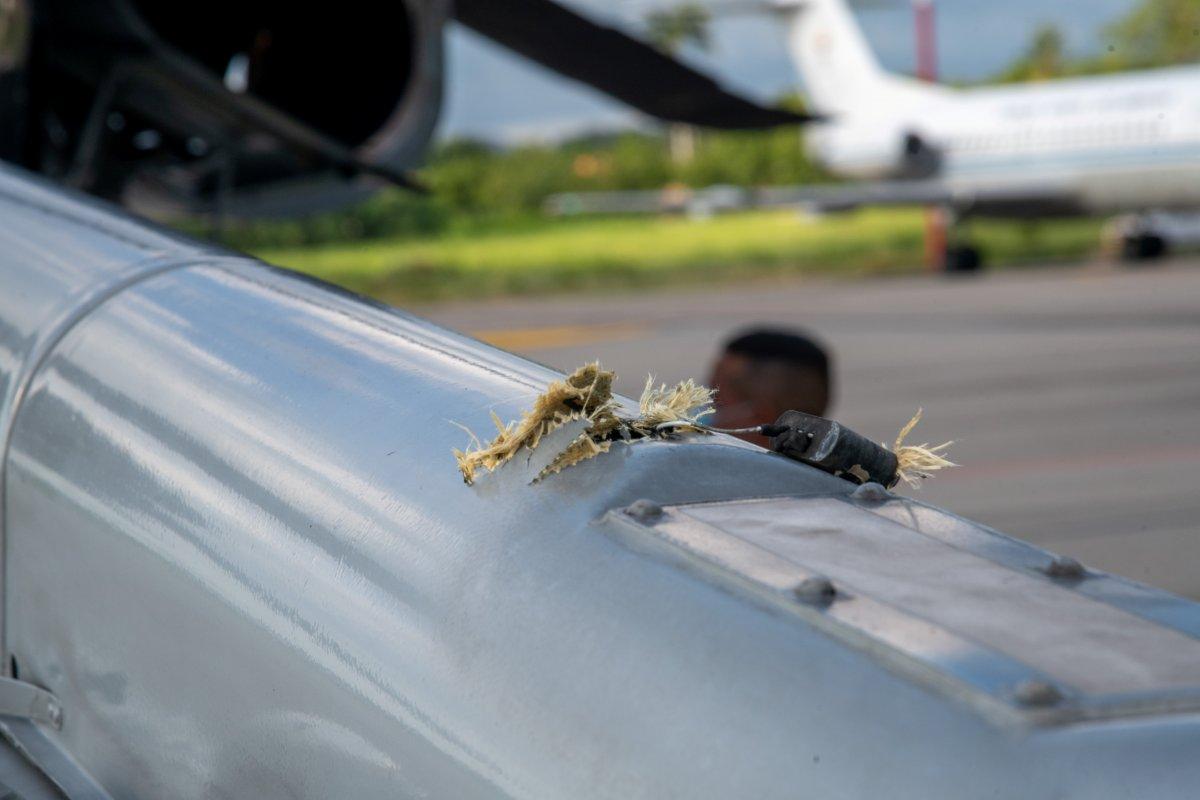 Kolombiya Devlet Başkanı Ivan Duque nin bulunduğu helikoptere silahlı saldırı #2