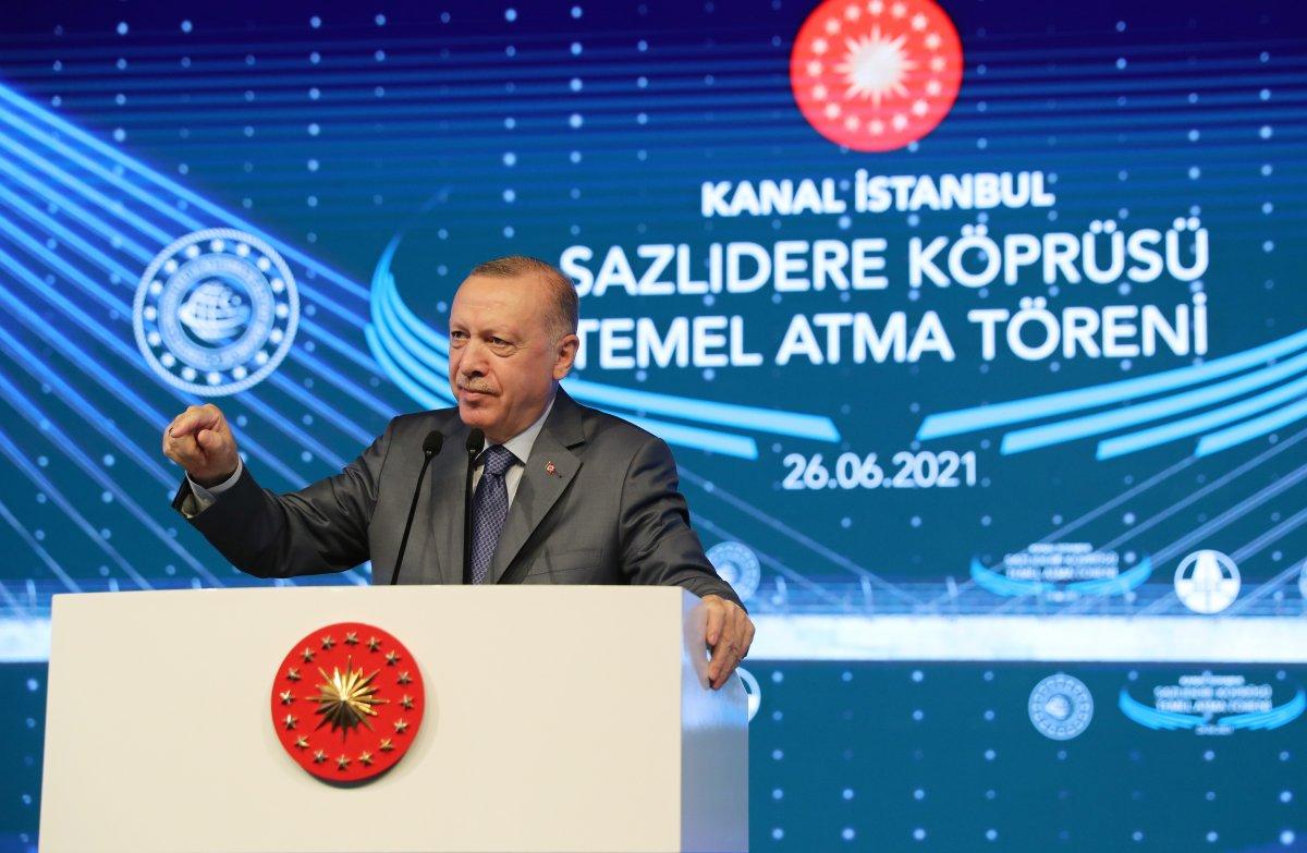 Cumhurbaşkanı Erdoğan: İtiraz edenleri dinleseydik, bu projeleri yapamazdık  #4