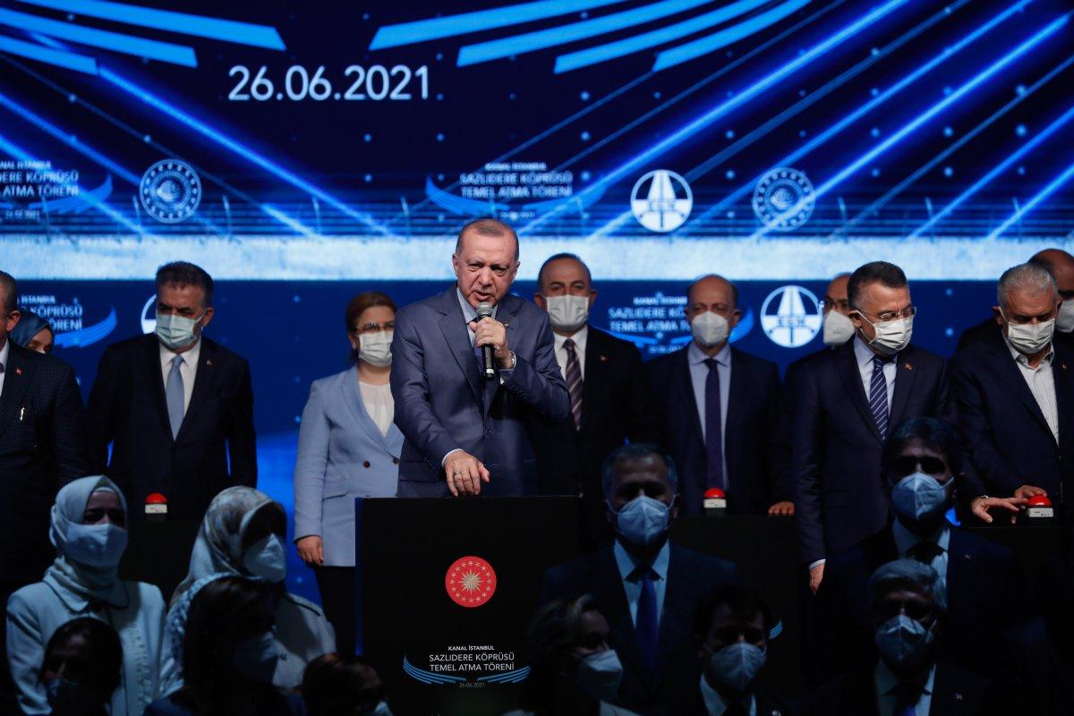 Cumhurbaşkanı Erdoğan: İtiraz edenleri dinleseydik, bu projeleri yapamazdık  #7