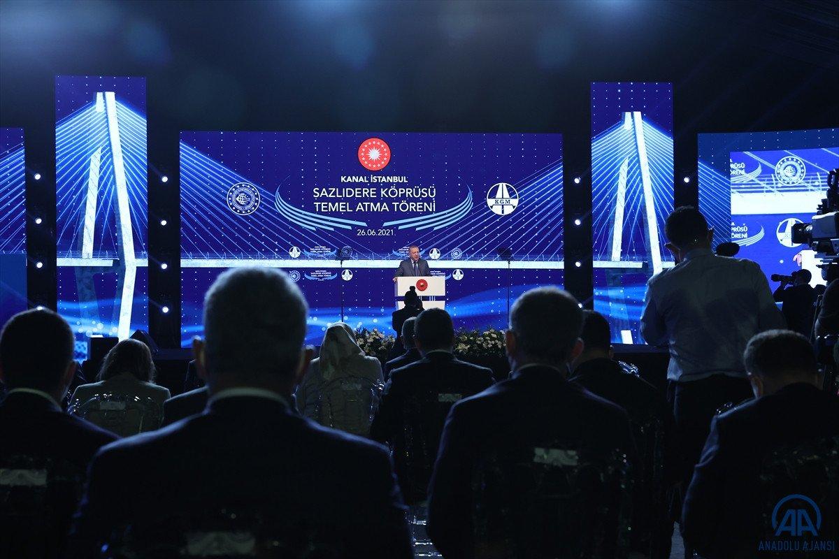 Cumhurbaşkanı Erdoğan: İtiraz edenleri dinleseydik, bu projeleri yapamazdık  #2