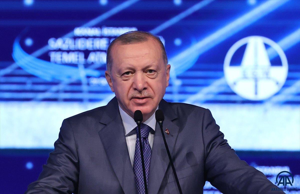 Cumhurbaşkanı Erdoğan: İtiraz edenleri dinleseydik, bu projeleri yapamazdık  #1