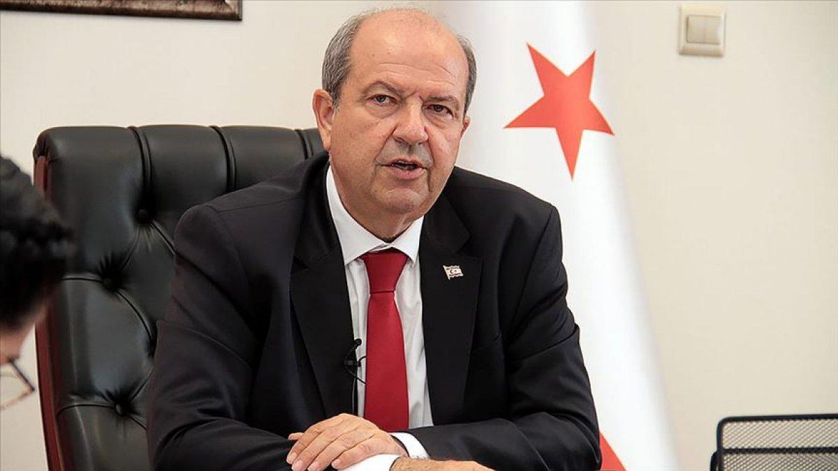 KKTC Cumhurbaşkanı Tatar dan AB ye: Kıbrıs gerçeklerini öğrenin #1