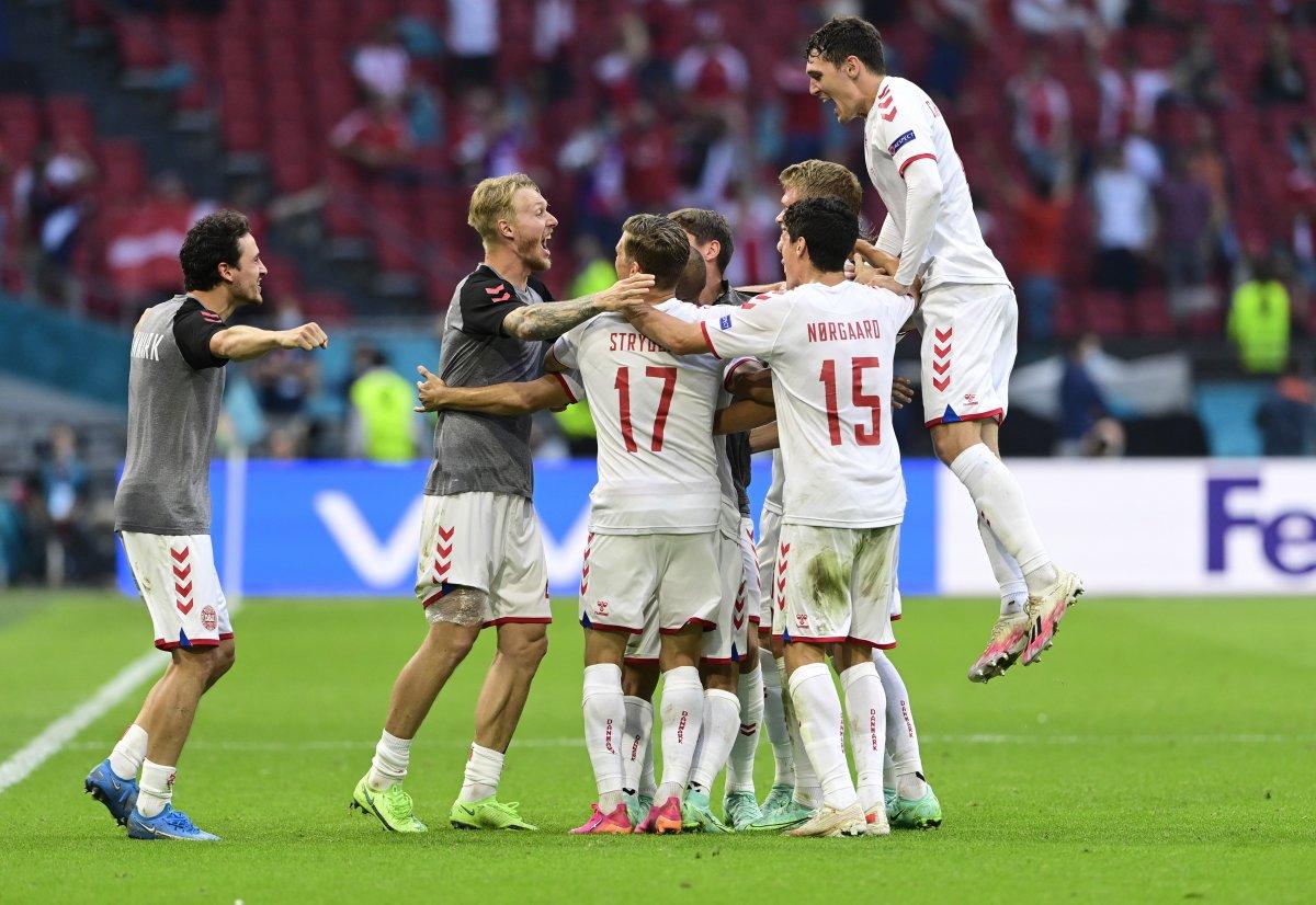 Danimarka, Galler i yenip, çeyrek finale çıktı #3
