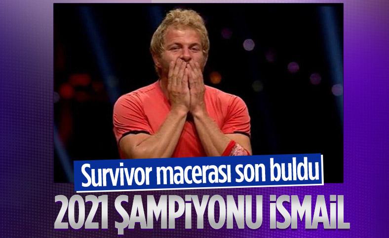 Survivor 2021 şampiyonu İsmail Balaban oldu