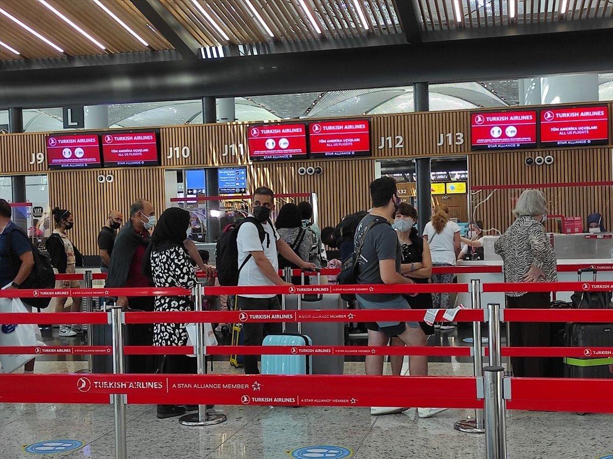 İstanbul Havalimanı nda yeni yolcu rekoru #1