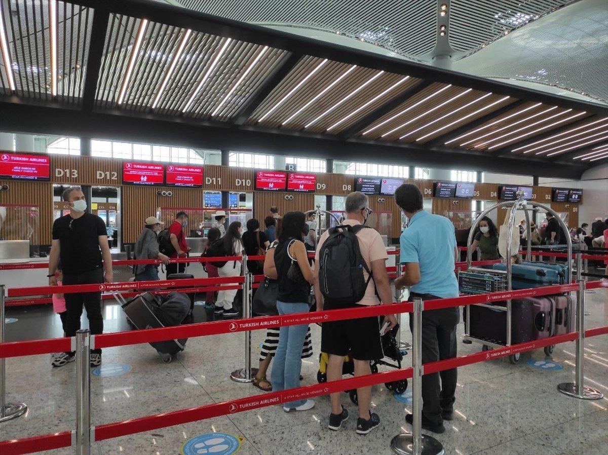 İstanbul Havalimanı nda yeni yolcu rekoru #5