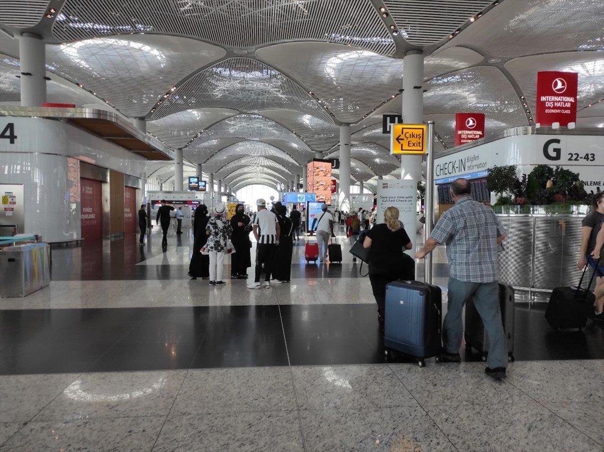 İstanbul Havalimanı nda yeni yolcu rekoru #2