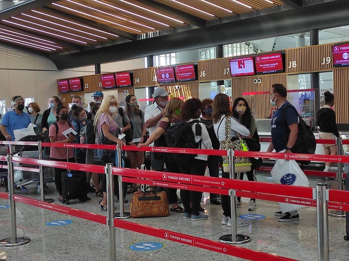 İstanbul Havalimanı nda yeni yolcu rekoru #4