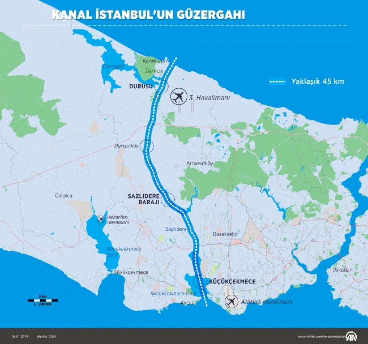 Kanal İstanbul için temel atma günü geldi #2