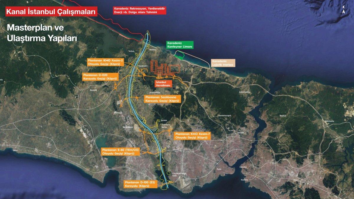 Kanal İstanbul un madde madde proje ve hedef aşamaları #25