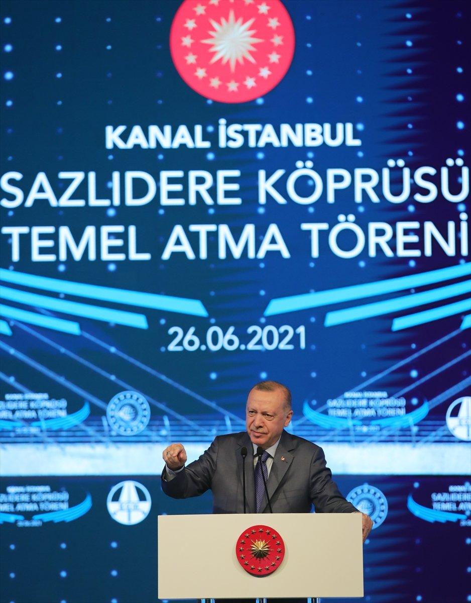 Cumhurbaşkanı Erdoğan: Kanal İstanbul kendi kendini finanse edecektir #2